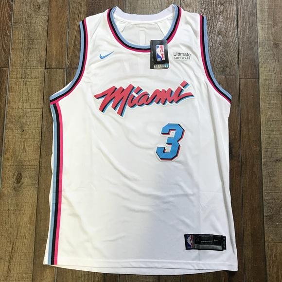 new arrival 95cb2 6ab89 Dwayne Wade Miami Heat NBA City Jersey NWT 🔥🔥 NWT